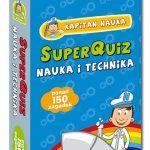 Kapitan Nauka.Nauka i technika-zagadki dla ciekawych dzieci