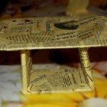 Stoliczek dla misia/lali