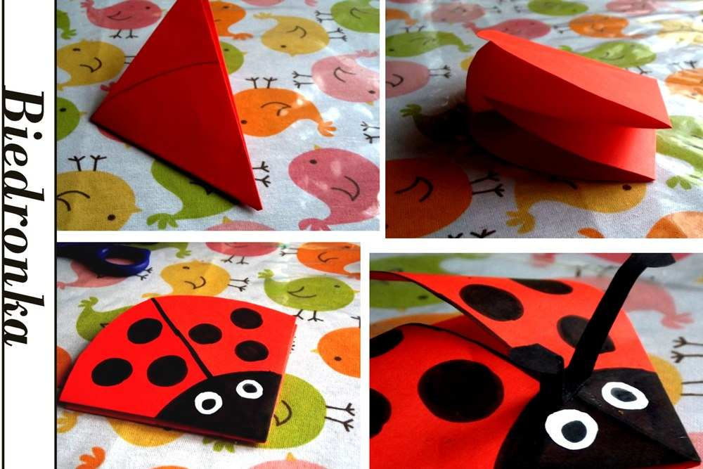 biedronka-origami