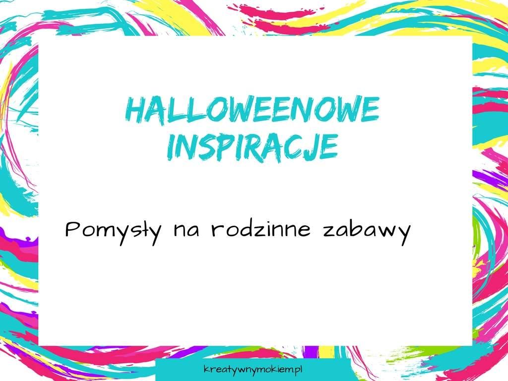 halloweenowe inspiracje