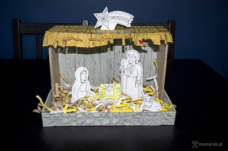 Szopka Bożonarodzeniowa mamarak