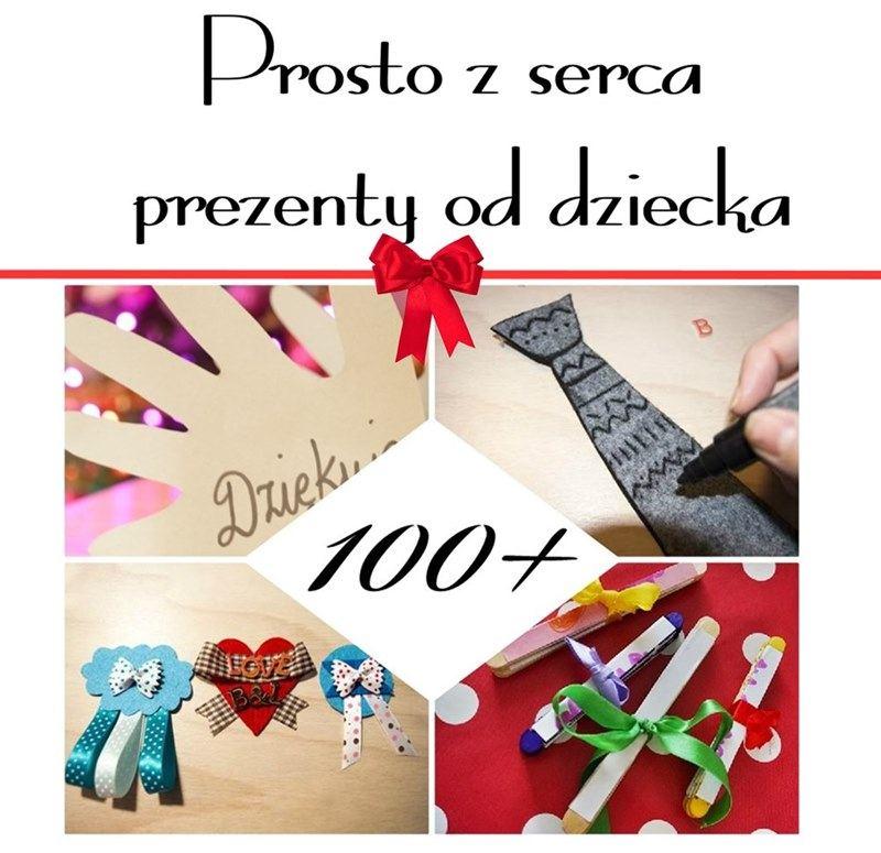 Darmowy E-BOOK z pomysłami na prezenty od dzieci