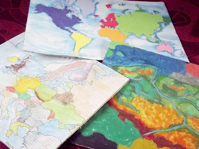 jak zrobić mapy