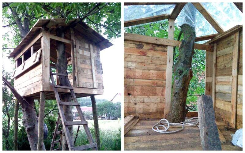 Jak zrobić domek na drzewie? - Dziecko na warsztat