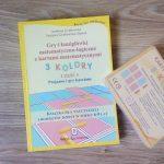 Karty matematyczne. 3 kolory – zabawa i edukacja