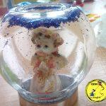 Kule śniegowe i świeczniki ze słoików – Dziecko na warsztat