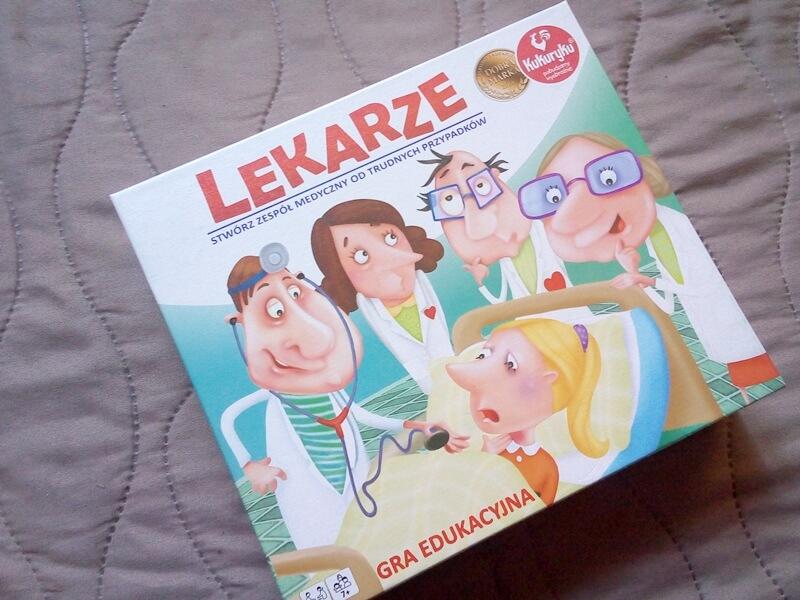 "Gra planszowa ""Lekarze"""
