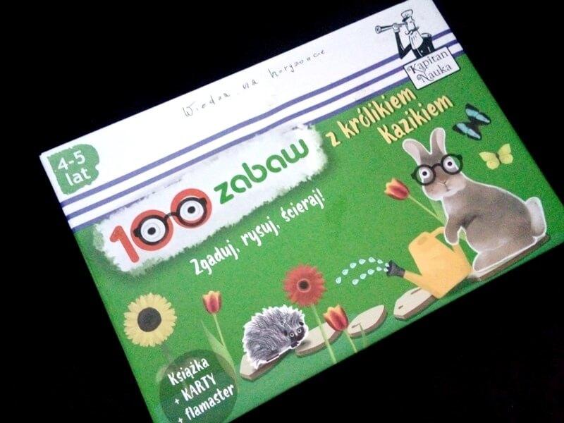 100 zabaw w królikiem Kazikiem