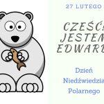 Niedźwiedź polarny-karta pracy i miś ze skarpety