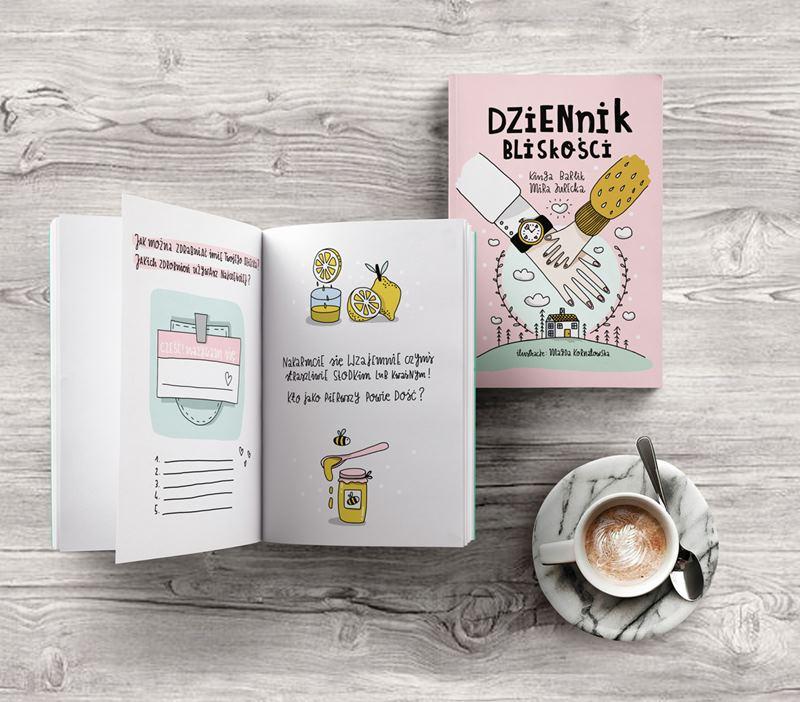 książka dziennik bliskości