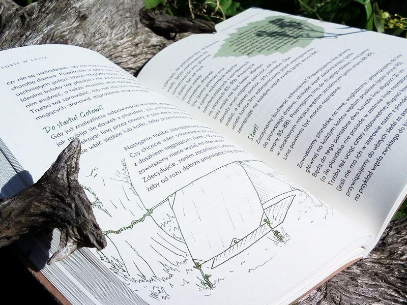 Leśna szkoła czyli jak bawić się przyrodą