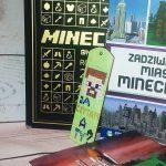 Zakładka do książki w stylu Minecraft