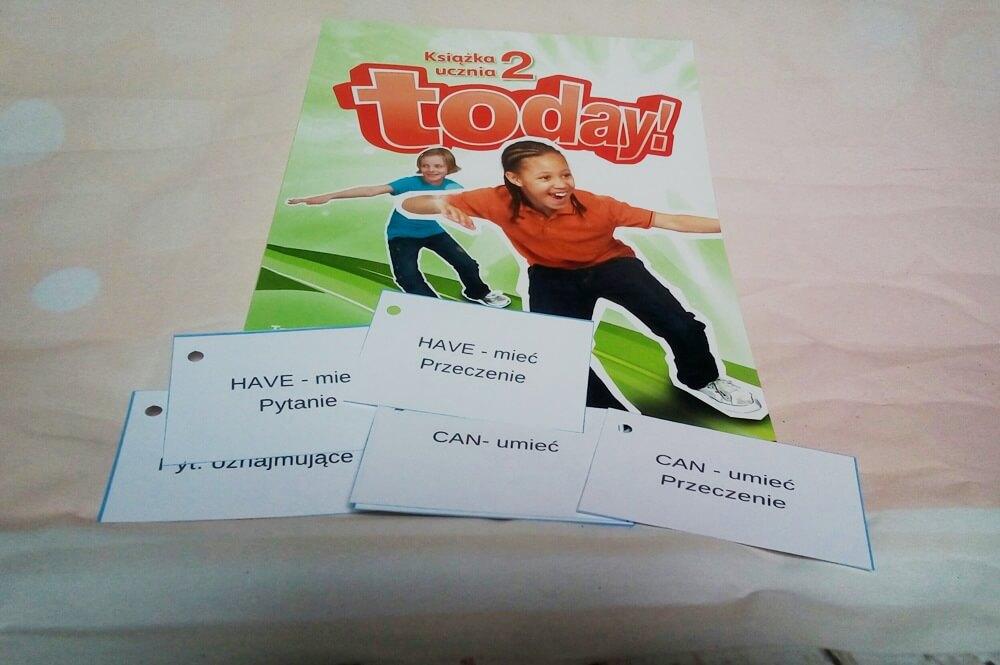 ortograficzne fiszki dla dzieci