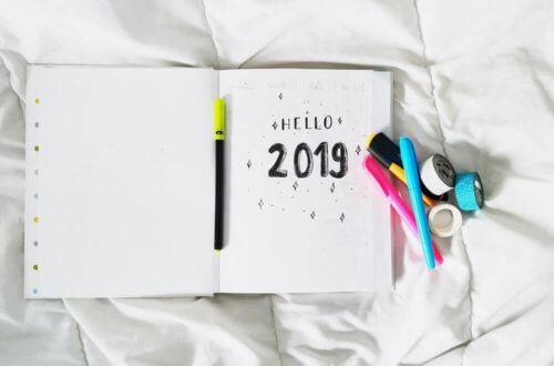 bullet journal 2019 dutch door