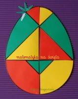 matematyka na święta, wielkanocne pisanki dla dzieci
