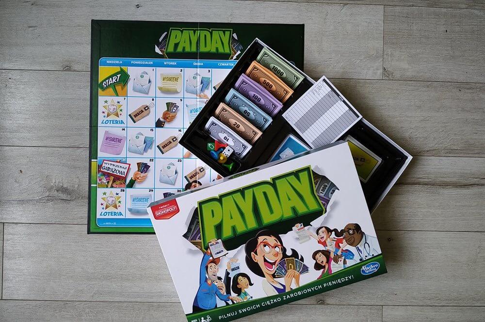 pay day gra planszowa